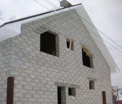 Качественный и недорогой дом из пеноблоков, кирпича, бруса в городе Киров, можно заказать в нашей компании профессиональных строителей СтройСервисНК
