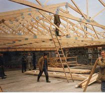 Строительство крыш в Кирове и пригороде, строительство крыш под ключ г.Киров